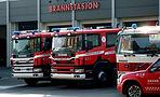 Utrykningsinstruktørene brannbil