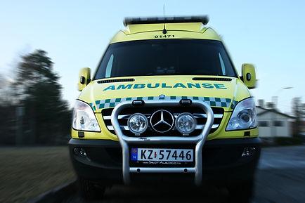 Utrykningsinstruktørene ambulanse
