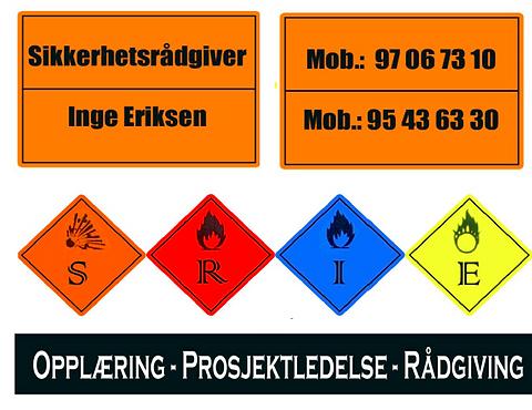 Samarbeidspartner med Sikkerhetsrådgiver Inge Eriksen
