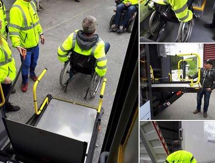 Stort engasjement på instruktørkurs transportutstyr-rullestolheis og bakløfter!