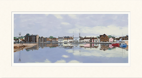 Wells quay with the new Maltings