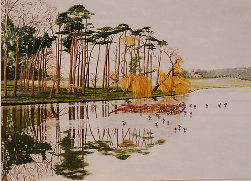 """Holkham Lake"""