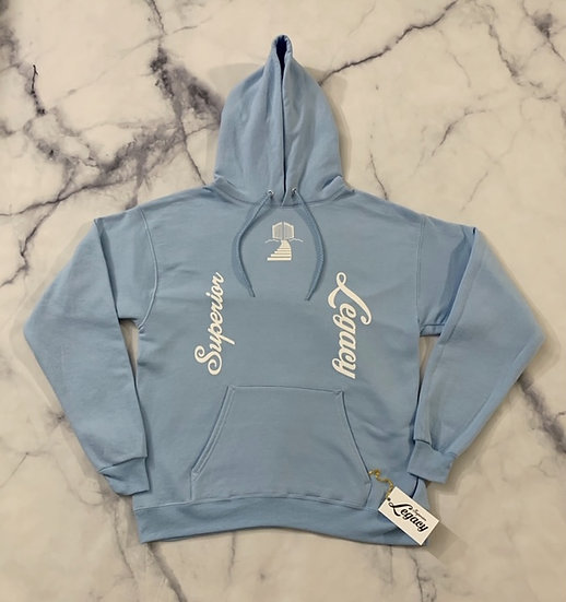"""""""Empowerment"""" Collection Hoodie - Light Blue"""