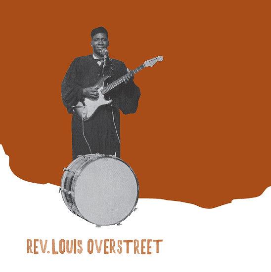 """LA-003 Reverend Louis Overstreet 7"""""""