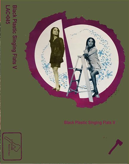 LAC•045 Black Plastic Singing Flats Volume 5