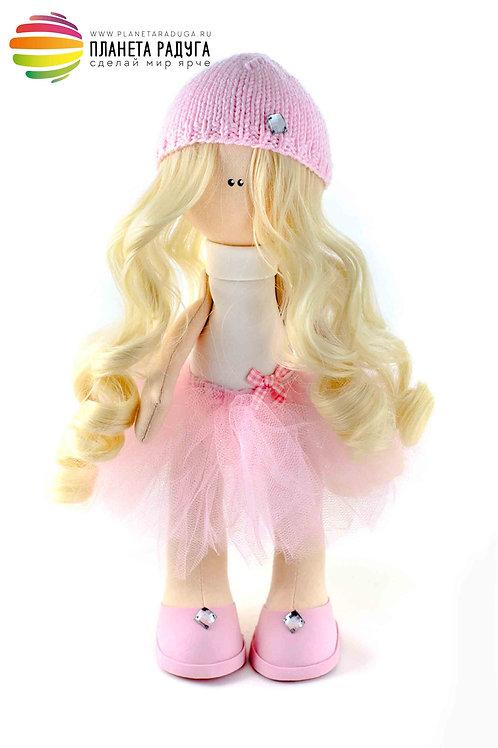 Набор для создания интерьерной куклы «Агнесса» 22 см