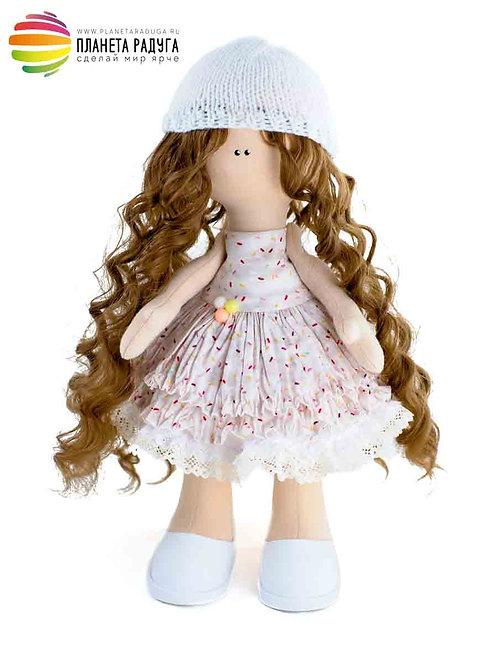 Набор для создания интерьерной куклы «Света» 33 см