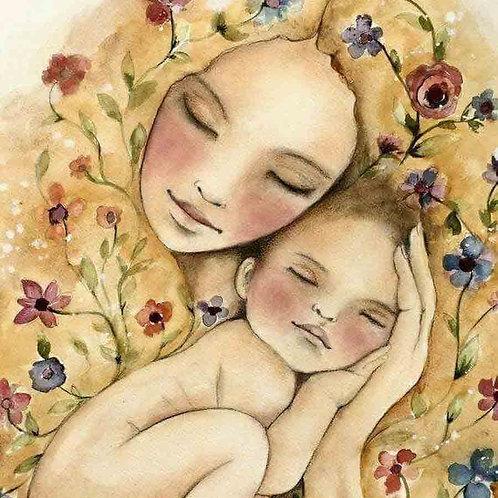 """Картина по номерам """"Мать и дитя"""" 40х50 см"""