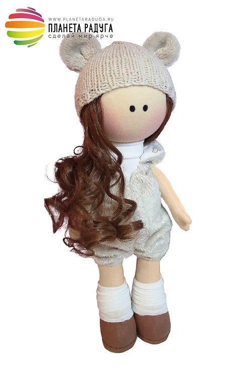 Набор для создания интерьерной куклы «Грета» 33см