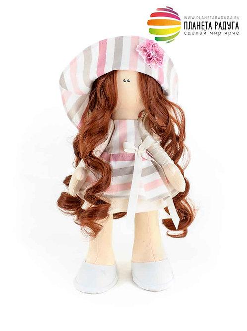 Набор для создания интерьерной куклы «Полина» 33 см