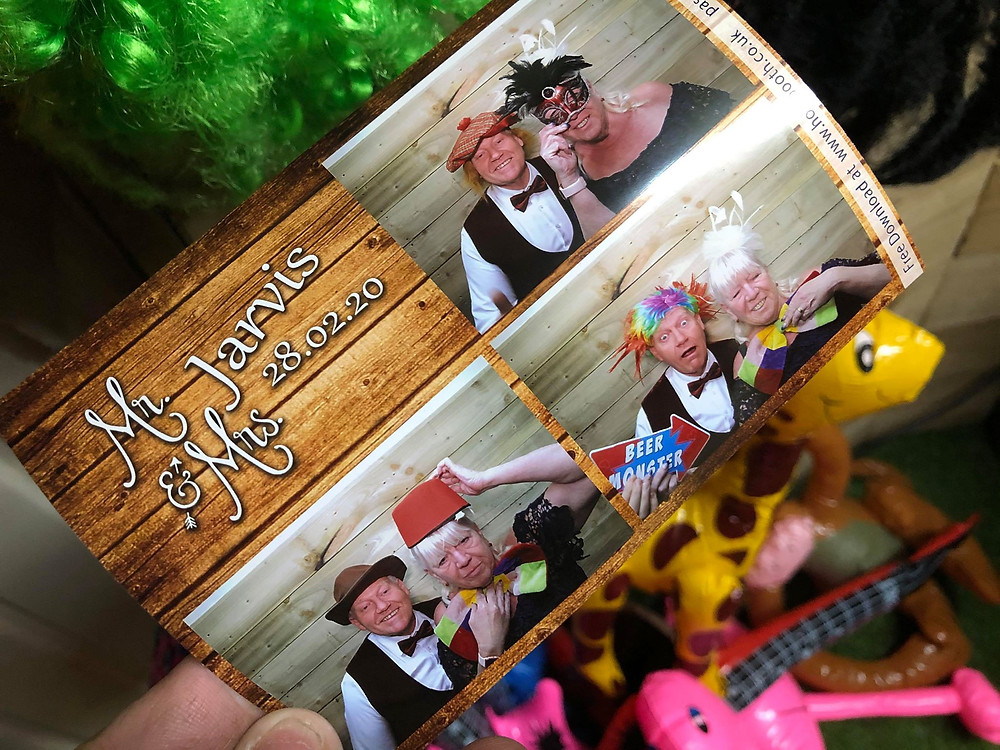 Wedding Photobooth Prints