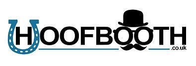 Hoofbooth logo wedding horsebox photobooth
