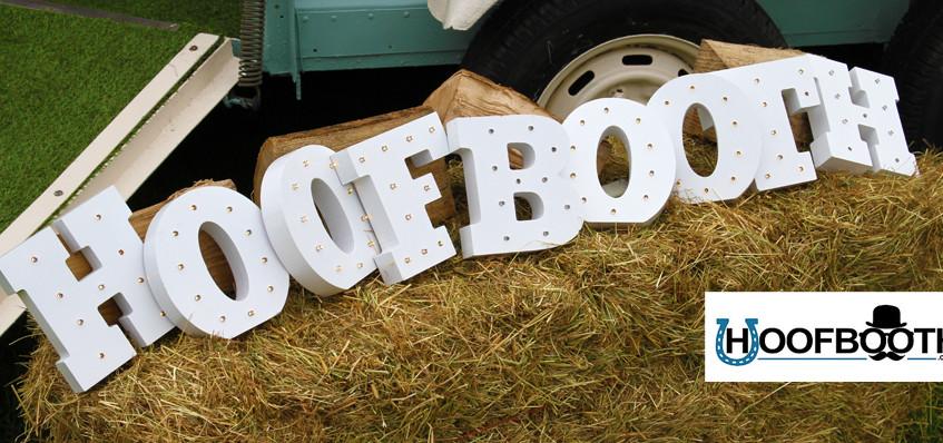 horsebox photobooth sign