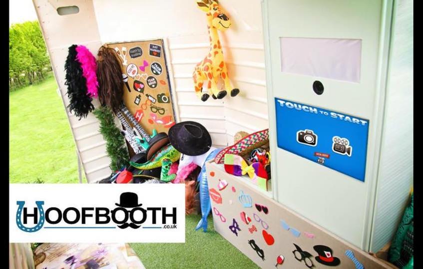 horsebox photobooth interior