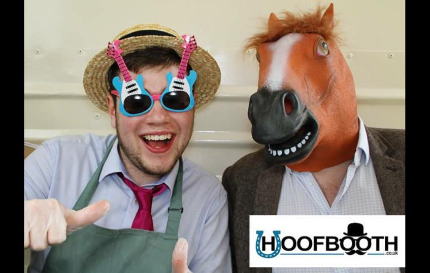horsebox photobooth horse