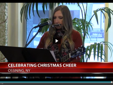 News 12: Volunteers Bring Holiday Cheer to Ossining Nursing Facility