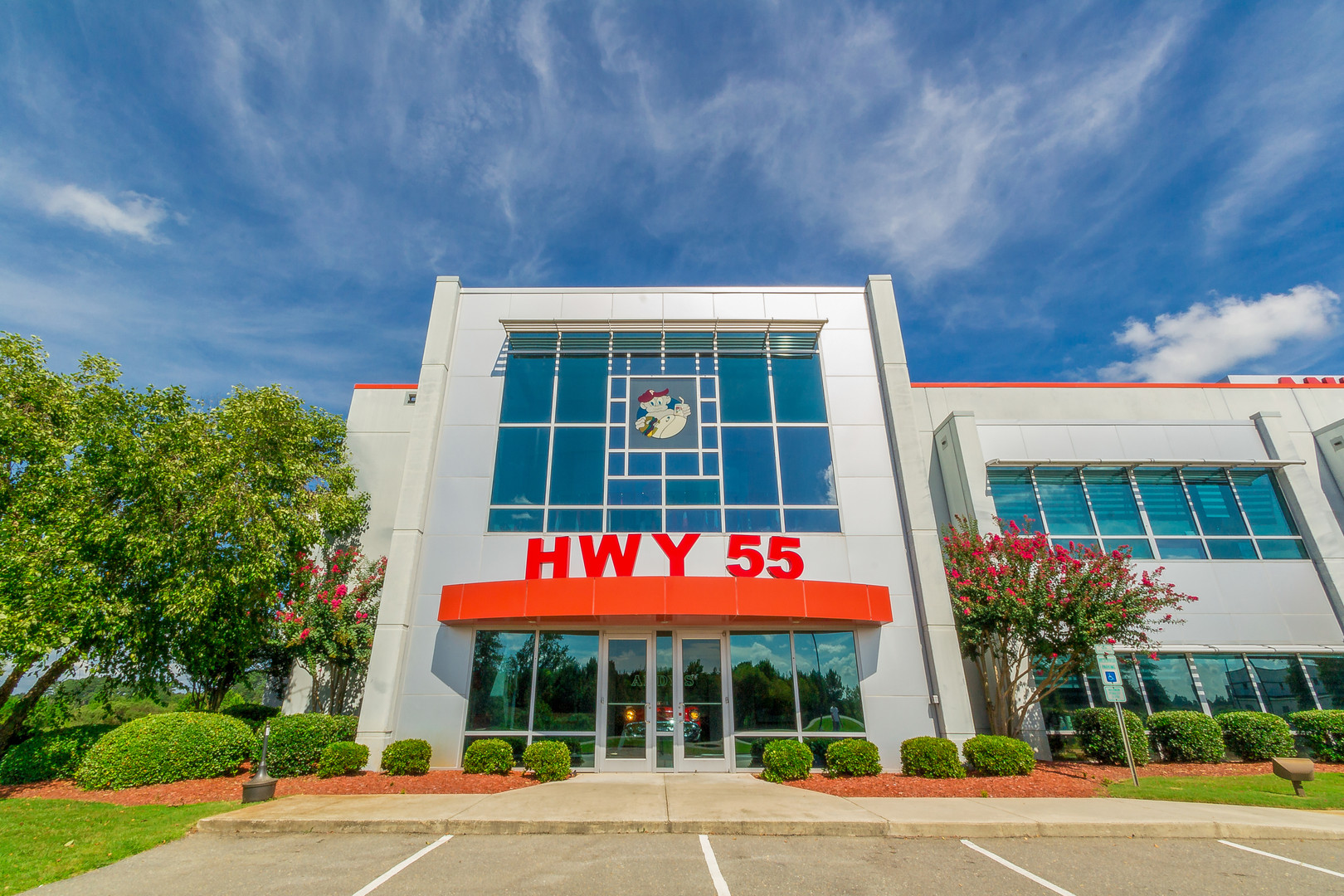 HYW 55 front of building