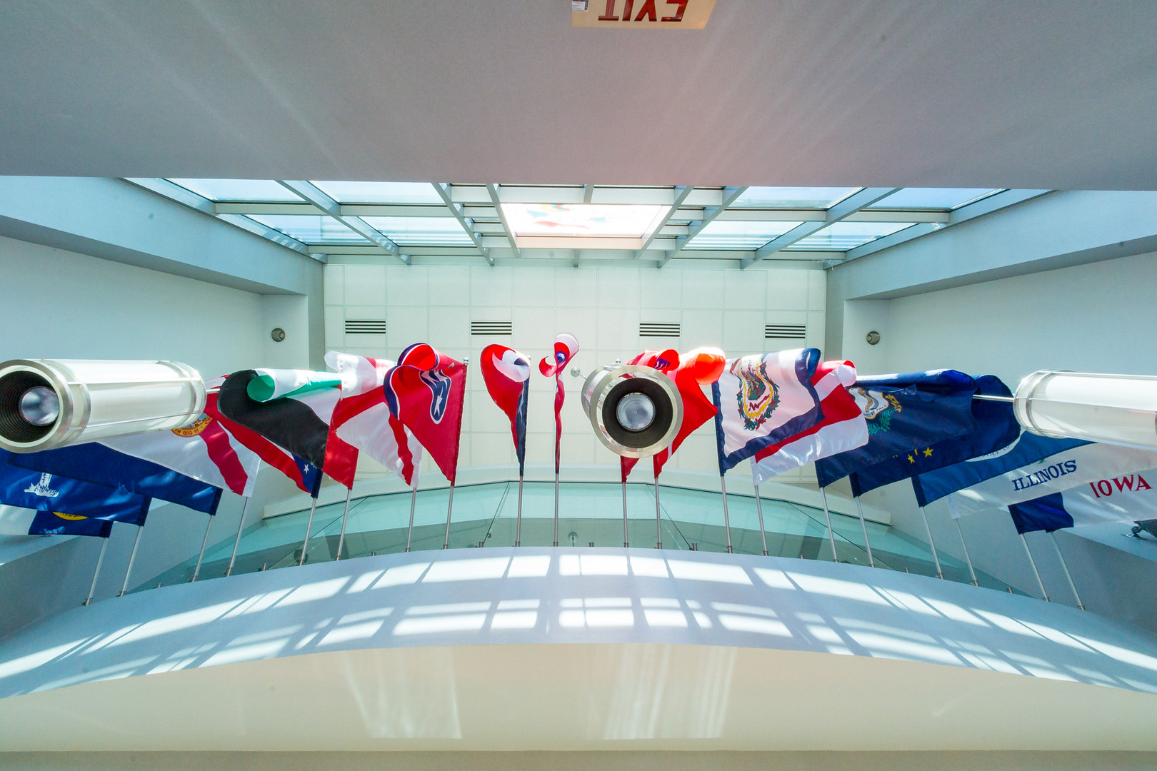Flags in HYW 55 Corporate