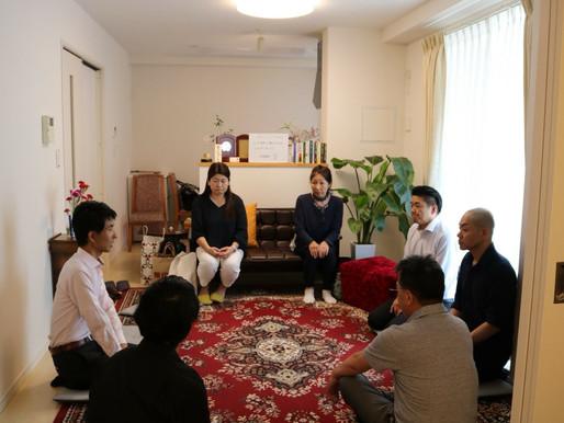 7/17ウツシ®施術会&お茶会@Takarazukaの様子