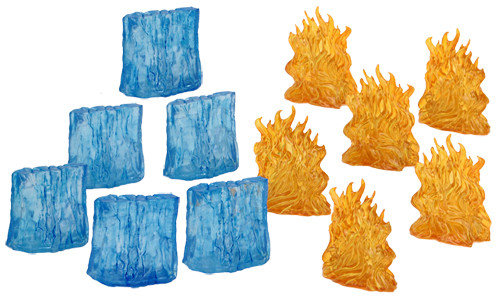 Spell Effects: Walls of Fire & Ice