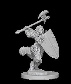 1/2 Orc Female Barbarian