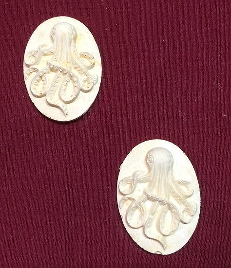 2 Octopus Medallions