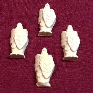 4 Dwarven Decorative Figures