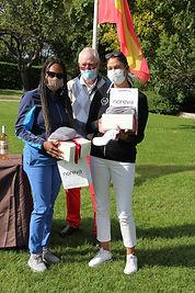 1er Prix DAME  COLOVIC Laura et PINTO Ja