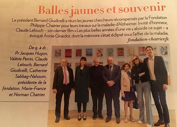 article Paris Match - 6 au 11 juin 2019_