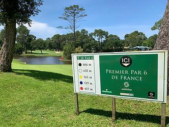 TPC 2021 Seignosse 1 Une des particularités du très beau golf de Seignosse..jpg