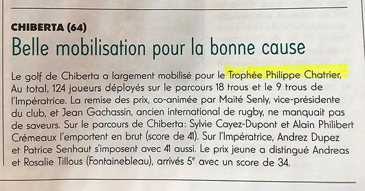 TPC 2020 article Chiberta Golf Magazine