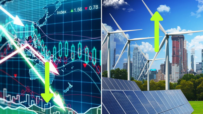 While the global economy is slowing down, renewable energy's recent growth had been steady and robus