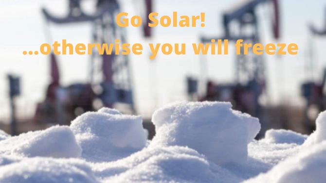 Сонячна енергетика льодовикового періоду