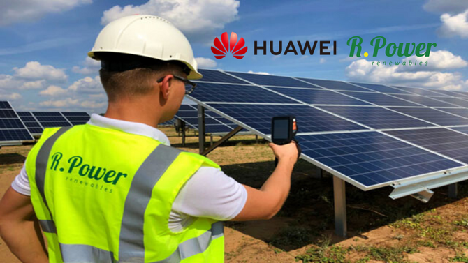 Huawei will provide AI-based solutions to the solar company R.Power