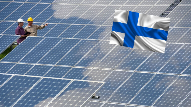 100 MW solar park and the power-to-gas project will be built in Finland