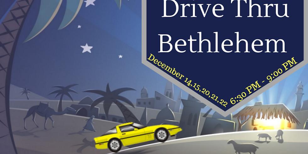 Drive Thru Bethlehem Night 2