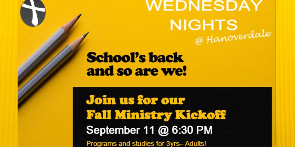 Wednesday Nights Return!
