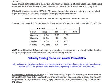 MN State Skeet Championship