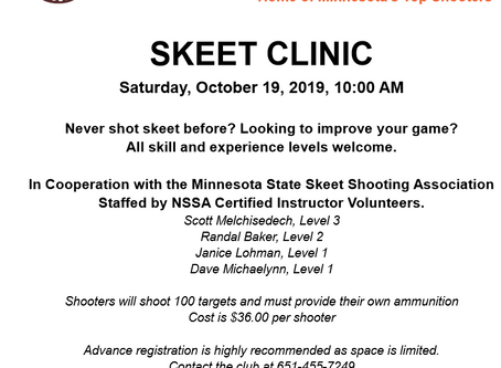 Skeet Clinic at South St. Paul Rod & Gun Club