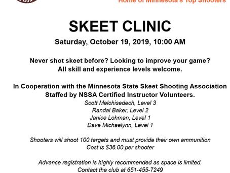 Skeet Clinic at South St. Paul Rod & Gun Club