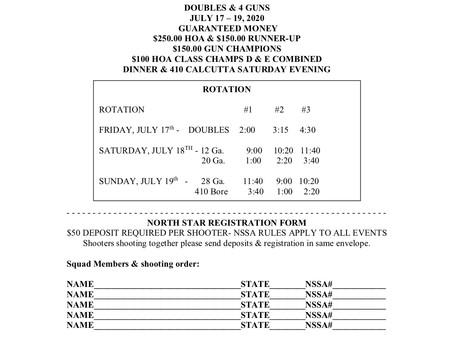 North Star Shoot Info