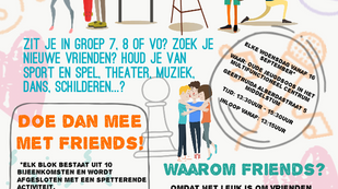 Friends weer van start!