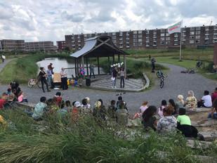 Kinderspeurtocht langs nieuwbouwlocaties Delfzijl Noord