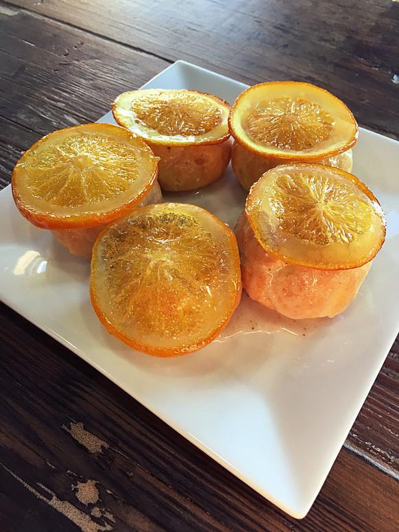 Orange Cream Puff