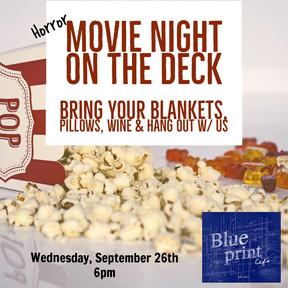 Movie Night on The Deck