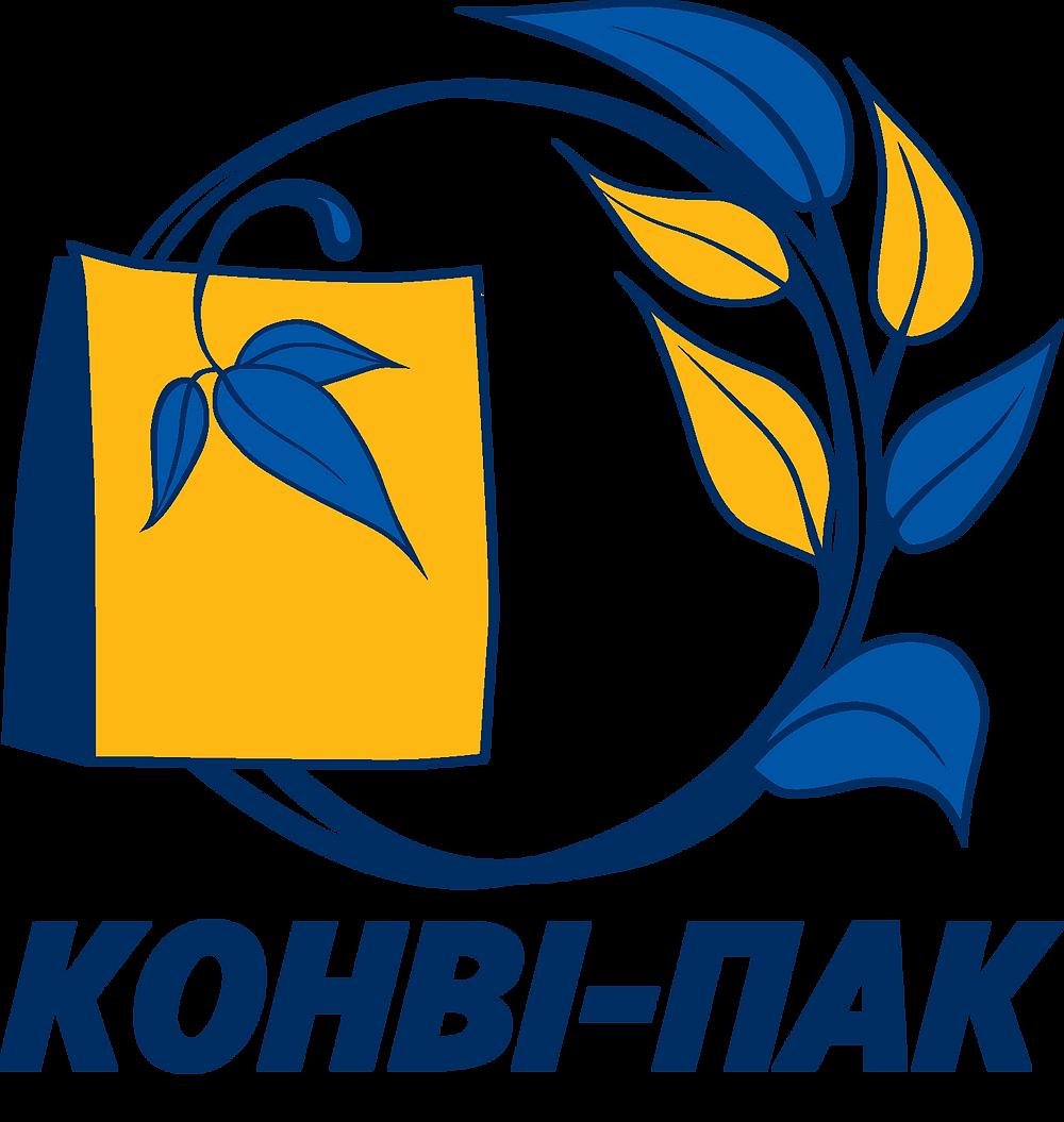 """Офіційний логотип ТОВ """"Конві-ПАК"""""""