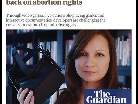 The Choice VR in The Guardian!