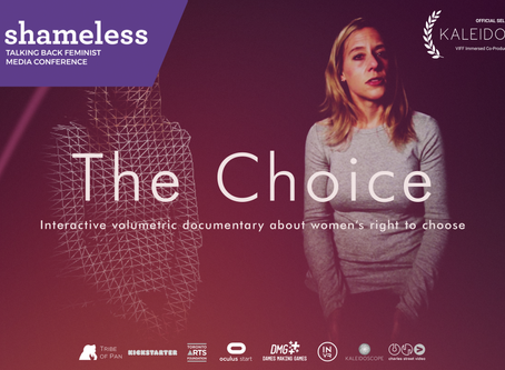 Presenting The Choice at The Talking Back Feminist Media Conference - this weekend!