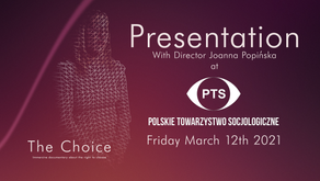 VR for social impact: presenting The Choice to the Polish Sociological Association