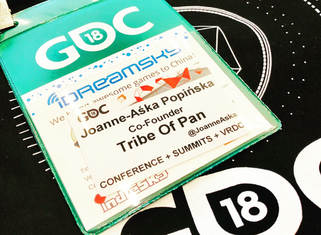 Great news! We are presenting The Choice VR at GDC in San Francisco this March!